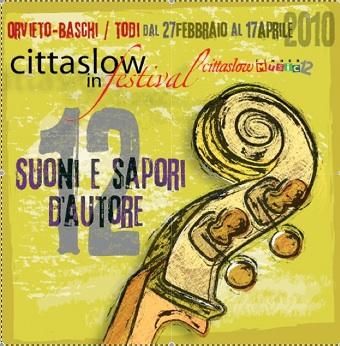 Tra Baschi e Todi al via Cittaslow in Festival Dinner Music #12