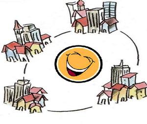 24 aprile 2010. Prima Giornata nazionale del Sorriso a Orvieto. Tre progetti e sette patti per il benessere con sé e con gli altri