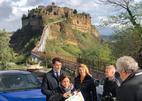 """In onda la puntata di """"Easy Driver"""" girata a Bagnoregio e a Civita"""