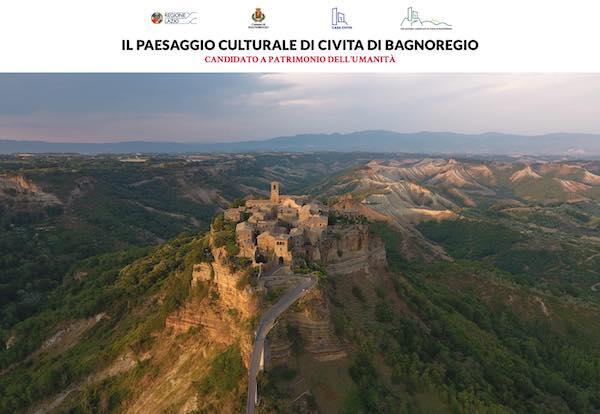 """La candidatura Unesco de """"Il Paesaggio Culturale di Civita di Bagnoregio"""" ha il suo sito Internet"""
