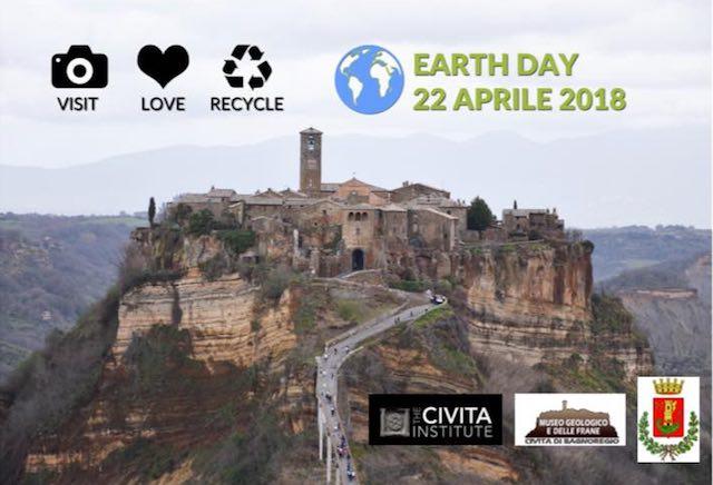 L'arte per lanciare un messaggio di tutela dell'ambiente dal cuore di Civita di Bagnoregio