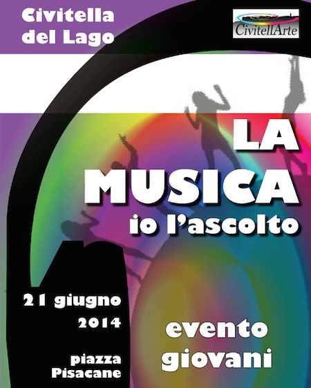 """""""La musica io l'ascolto"""" a Civitella del Lago"""