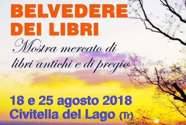 """Civitella del Lago diventa il """"Belvedere dei Libri"""""""