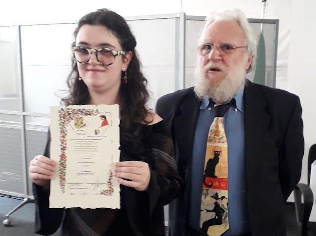 """Clarissa Sabatini tra i vincitori del concorso nazionale """"Una poesia dal cassetto"""""""