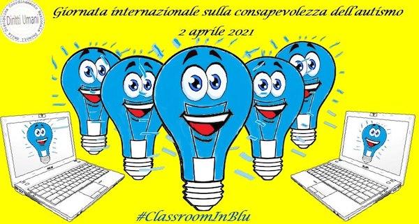 """""""Classroom in blu"""" per la Giornata Internazionale sulla Consapevolezza dell'Autismo"""