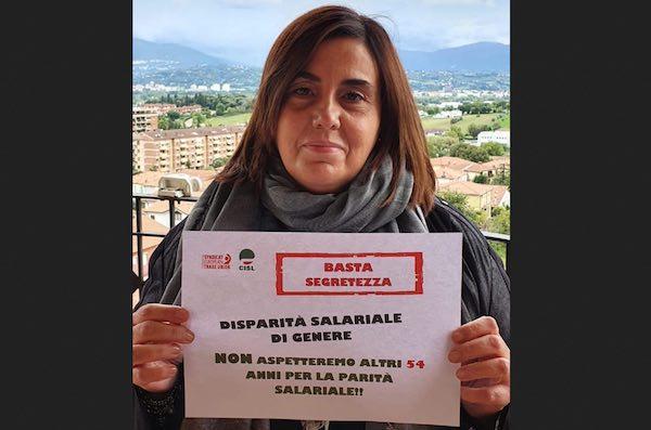Il Coordinamento Donne Cisl Umbria per la trasparenza salariale