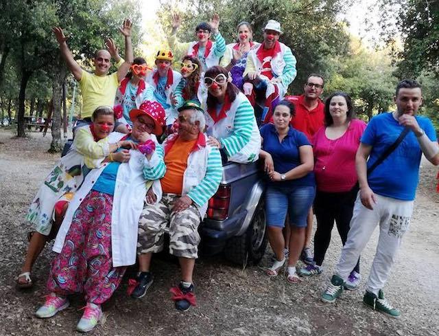 Clown in Festa al Parco Aiuola di Guardea. Ampia partecipazione, tanta soddisfazione