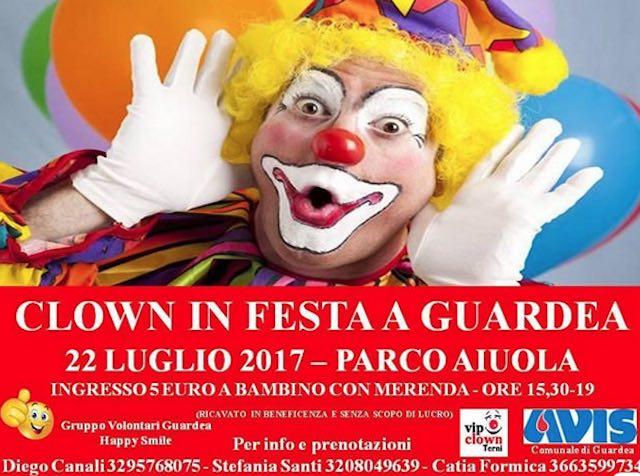 Clown in Festa al Parco Aiuola. Tra bolle giganti e caccia al tesoro