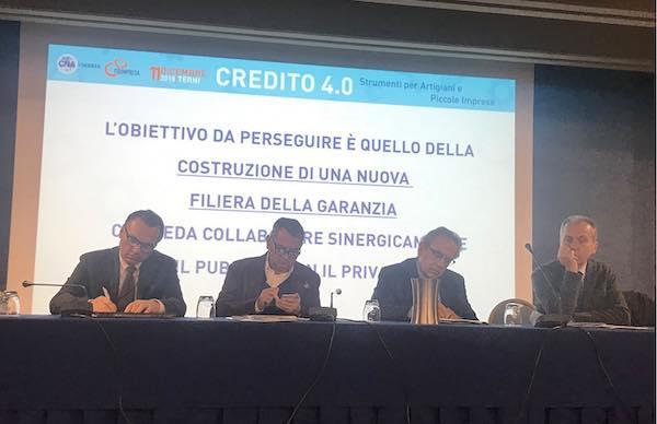 """CNA Umbria: """"Credito, finalmente si riparte con una nuova filiera della garanzia"""""""