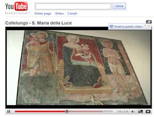 Festa della Madonna della Luce a San Venanzo. Un video di Roberto Gonnellini sul pregevole affresco e la sua devozione