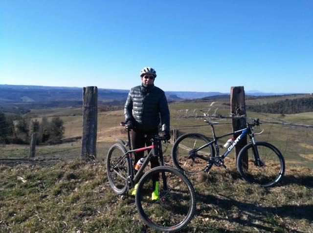 """Giro in mountain bike con l'Asds """"Majorana"""" sulle colline del Lago di Corbara"""