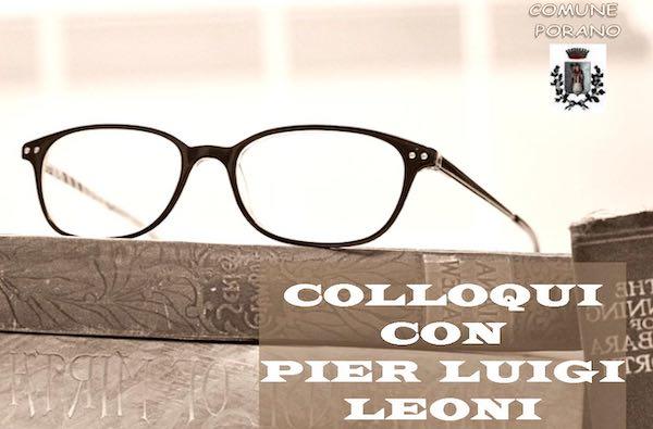 """Colloqui con Pier Luigi Leoni"" al Teatro Santa Cristina"