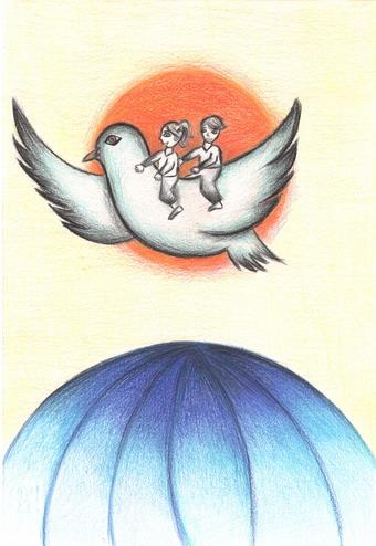 """Concorso Lions International """"Un Poster per la Pace"""". Scelto il disegno orvietano che parteciperà alle fasi successive"""