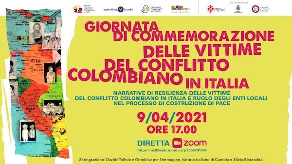 Giornata delle vittime del conflitto colombiano, anche in Italia la commemorazione