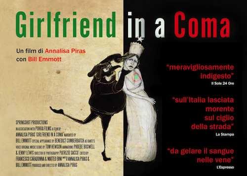 Proiezione di 'Girlfriend in a Coma' e incontro con gli autori