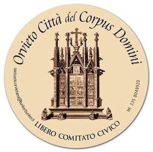 Il comitato civico �Orvieto città del Corpus Domini� si presenta alla città. Martedì a Palazzo dei Sette
