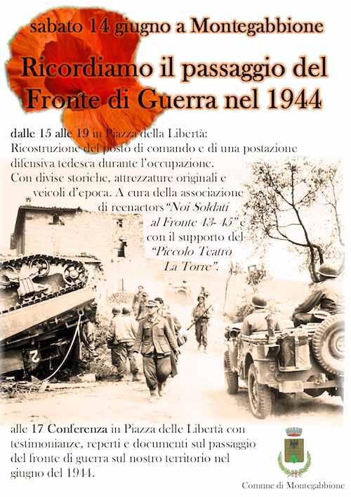 L'Orvietano ricorda il passaggio del Fronte di Guerra nel 1944