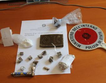 Ventiquattrenne orvietana denunciata per spaccio di droga. Operazione del Commissariato di Orvieto