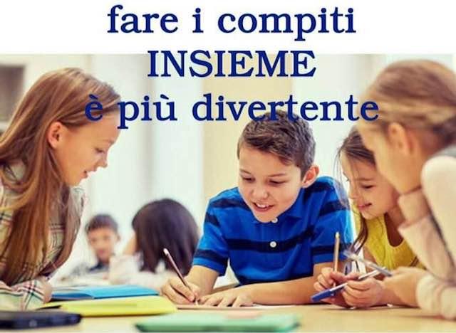 """Compiti insieme in biblioteca, con l'Associazione """"La Locomotiva"""""""