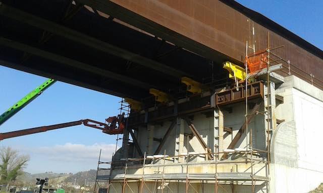 Complanare, via alla fase conclusiva della realizzazione del secondo ponte sul Paglia