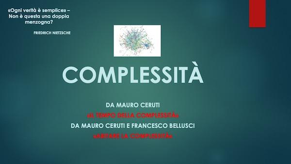 """Con """"Complessità"""" si riavvia il percorso di filosofia del prof. Barbabella"""