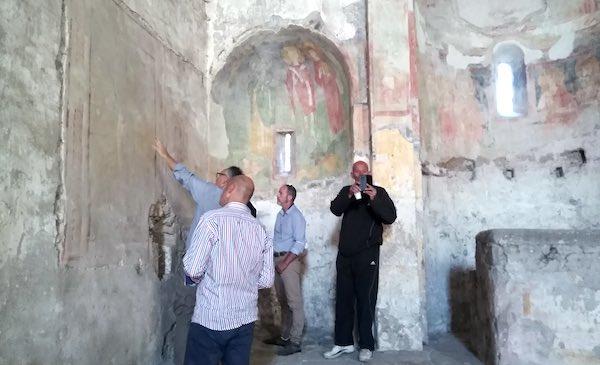 Complesso di Santa Maria in Foro Cassio, anteprima della riapertura