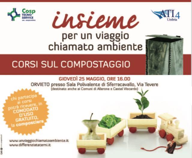 Corso di compostaggio domestico a Sferracavallo promosso da Cosp Tecno Service e Comune