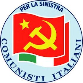 Martedì 26 maggio Manifestazione politica del Partito dei Comunisti Italiani. Diliberto, Mascio, Tonelli alle ore 21 a Palazzo dei Sette