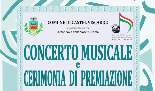 Concerto di Mezzagosto e premiazione ai Corsi di Perfezionamento