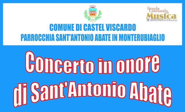 """""""Concerto in onore di Sant'Antonio Abate"""" nella chiesa di Monterubiaglio"""