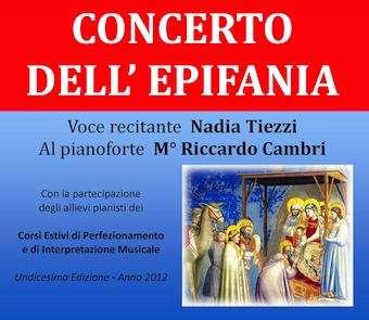 Concerto dell'Epifania nella chiesa parrocchiale di Monterubiaglio