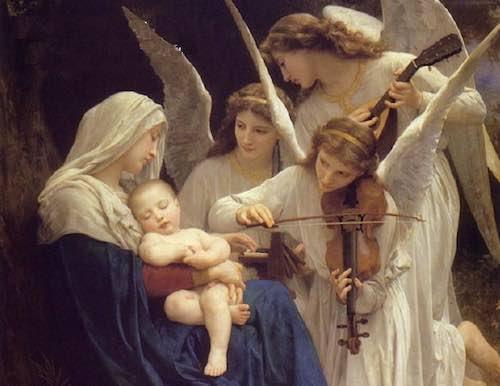 Coro parrocchiale e voci bianche alla messa della Notte di Natale