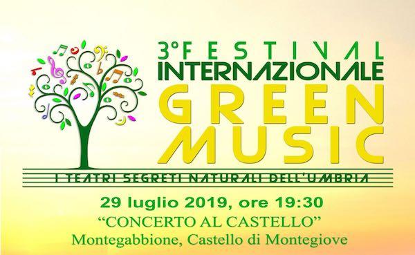"""""""Concerto al Castello"""" di Montegiove per il Festival Internazionale Green Music"""