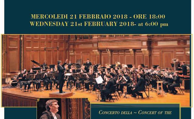 Nec's Massachusetts Youth Wind Ensemble in concerto al Mancinelli