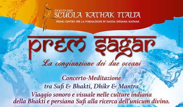 """""""Prem Sagar. La congiunzione di due oceani"""". Concerto-meditazione al Casale Ponte Sodo"""