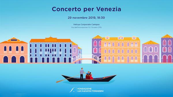 """Concerto per Venezia"". Toni Concina al piano al Vetrya Corporate Campus"