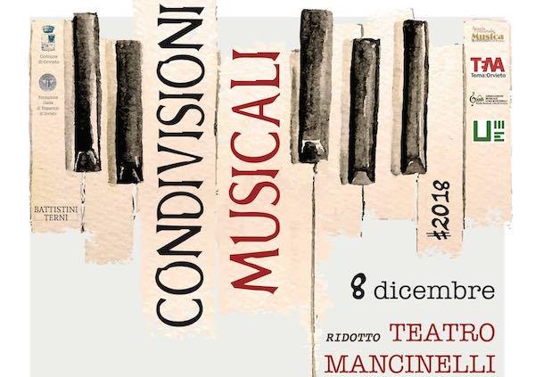 """""""Pianoforte Virtuoso"""" e """"Mancinelli, musica e ricordi"""" chiudono i concerti di CondivisioniMusicali #2018"""
