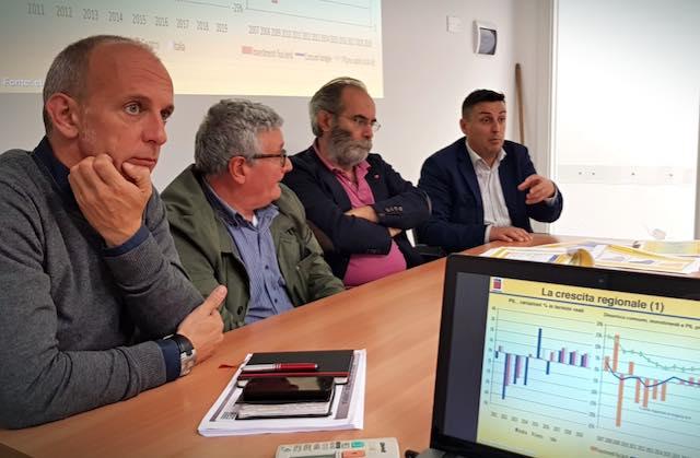 Nuovo rapporto Ires Cgil Umbria. Deboli segnali di ripresa, ma su occupazione e consumi è ancora buio pesto