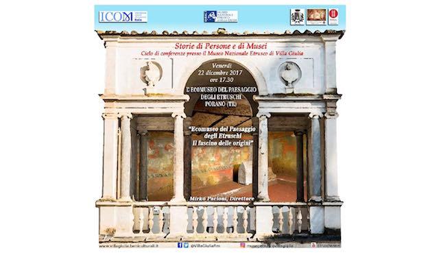 Trasferta a Villa Giulia per l'Ecomuseo del Paesaggio degli Etruschi