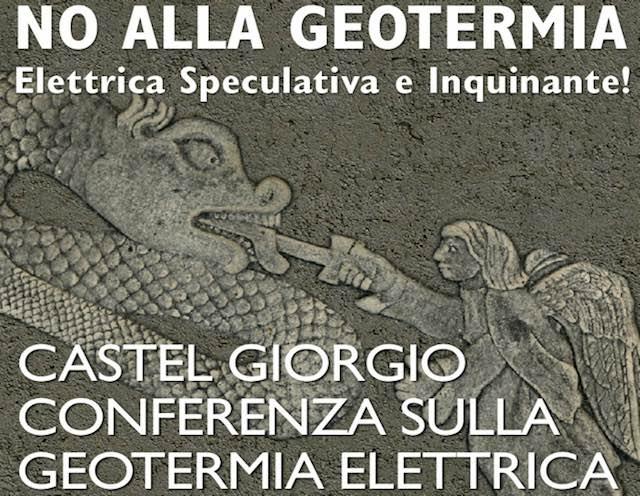 Geotermia elettrica, conferenza Nogesi in Comune