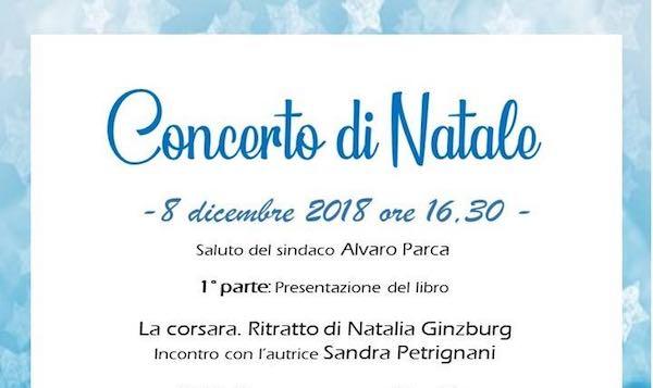 Concerto di musica classica e presentazione del libro su Natalia Ginzburg