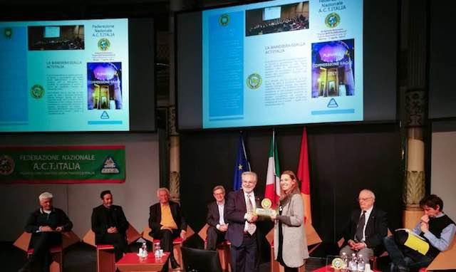 Ficulle ottiene la Bandiera Gialla ACTItalia del Turismo Itinerante