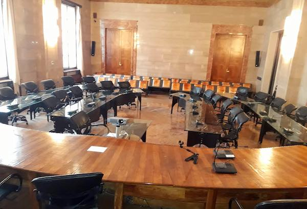 Prima seduta del nuovo Consiglio Provinciale, convalida degli eletti e giuramento del presidente