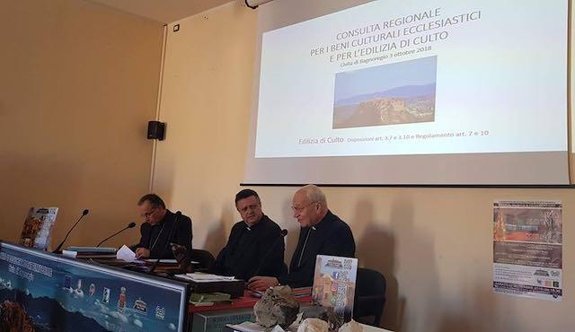 Due vescovi a Civita per la Consulta Regionale per i Beni Culturali Ecclesiastici