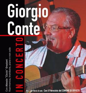 """Concerto dello  """"Chansonnier""""  Giorgio Conte per """"Maggio d'Autore"""". Venerdì sera al Mancinelli"""