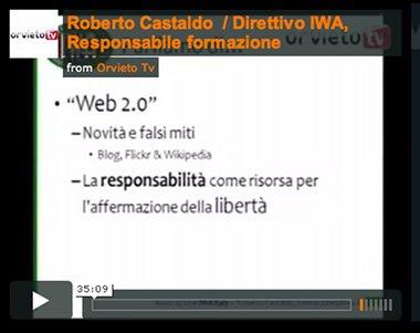 """Convegno """"L'informazione sul web. Quali regole per un nuovo luogo"""". Gli interventi dei relatori su Orvieto.TV"""