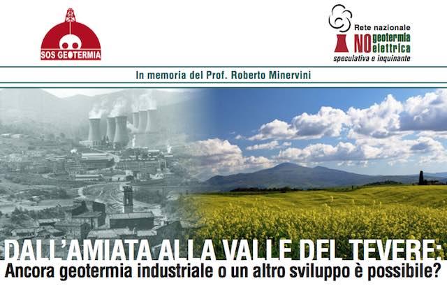 """""""Dall'Amiata alla Valle del Tevere seguendo la via del mercurio"""""""