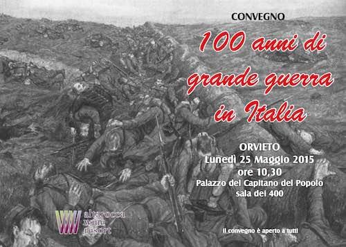 """Al Palazzo dei Congressi convegno su """"Cento Anni di Grande Guerra in Italia"""""""