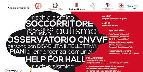 """""""Per una cultura della sicurezza inclusiva. Emergenze e persone con disabilità o disturbi"""""""