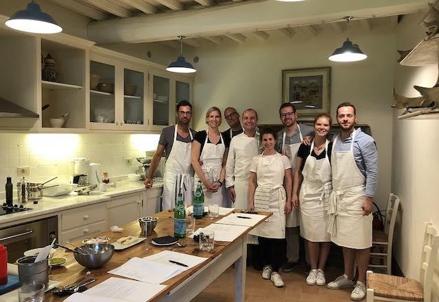 A scuola di cucina con Antonio Strammiello, chef stellato del Castello di Fighine
